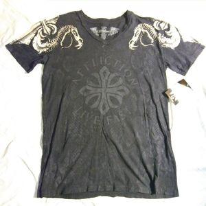 NWT. Affliction shirt 2XL